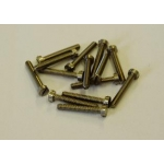 10BA x 5/64 Brass Slot Cheese c/t Pack 100