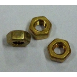 8BA C/F Brass Full Nut Pack 50