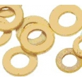 12BA Etched Brass Washers - Grid of 100