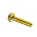 M2 x 6 Brass Pozi Pan Head r/t Pack 50