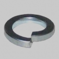 10BA Steel Single Coil Sq. Washers Pack 100