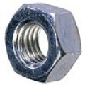 8BA Stainless Steel Full Nut Pack 50